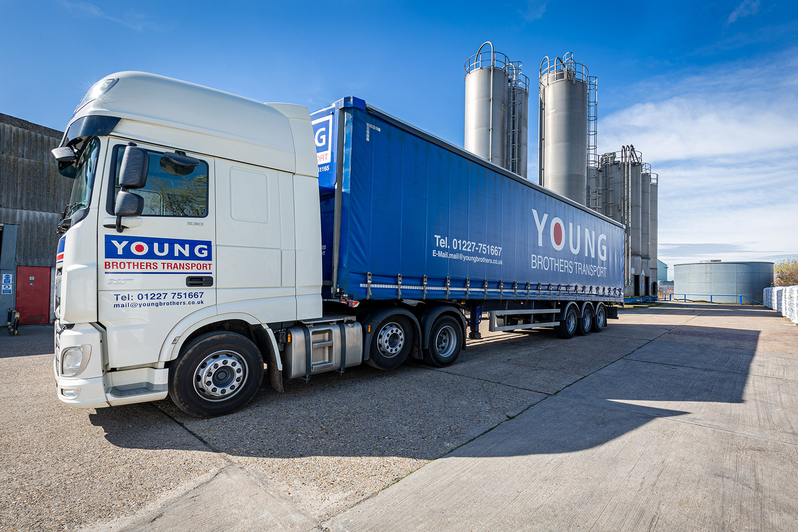 Young Brothers Transport | Flexible Haulage services